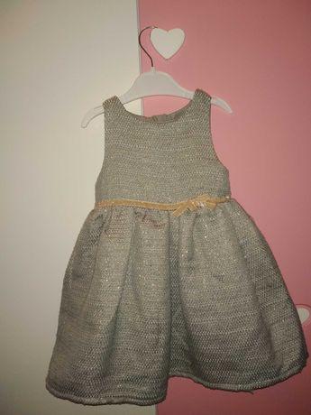 Elegancka sukienka, roz. 86
