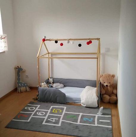 Cama Montessori para criança