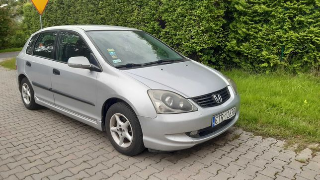 Honda Civic VII 1.4 90km Klimatyzacja polski salon