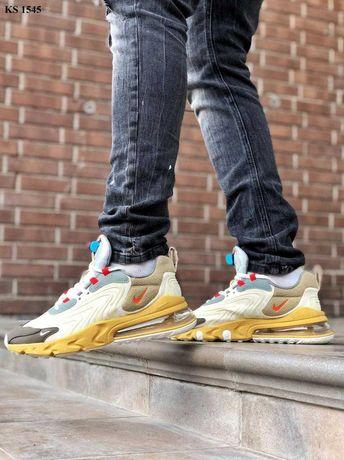 Мужские Nike, кросовки | Плотный текстиль KS 1545 Найк air max 270