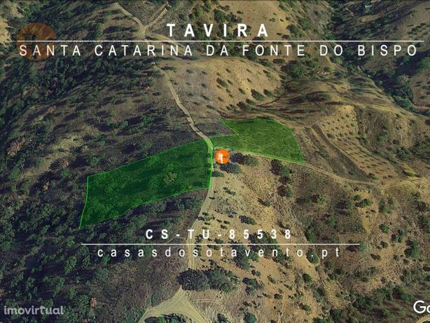 Terreno Rústico em Santa Catarina fonte do Bispo