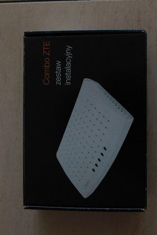Zestaw Combo ZTE modem ADSL ZXDSL 831 ALL
