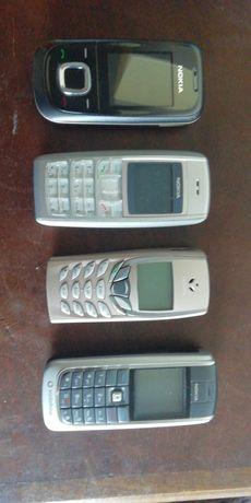 Lote de telefones NOKIA