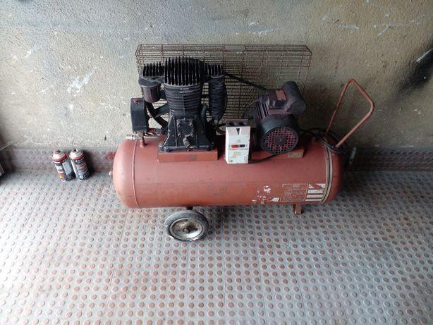 Compresor  de aire  100 litros  monofasico   atrabajar  impagables