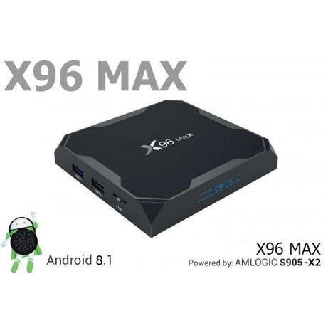Смарт ТВ приставка Smart TV X96 max 2/16 (НАСТРОЙКА)