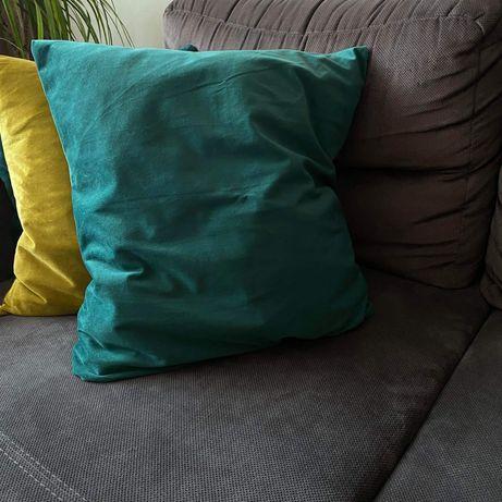 Poszewka na poduszkę 50x50 cm zieleń aksamit welur NOWA