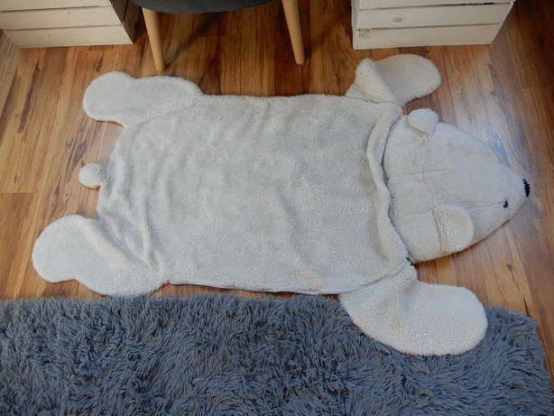 piękny śpiworek, dywanik miś