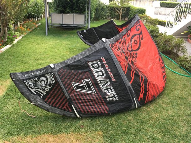 Kite Naish Draft 2014/15 size 7 - High Performance free ride big air