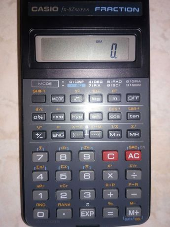 Calculadora Casio Fraction