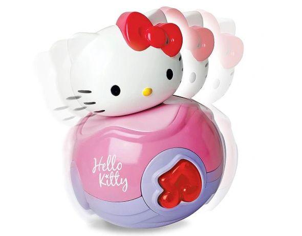 Nowa interaktywna świeci gra wańka wstańka Hello Kitty