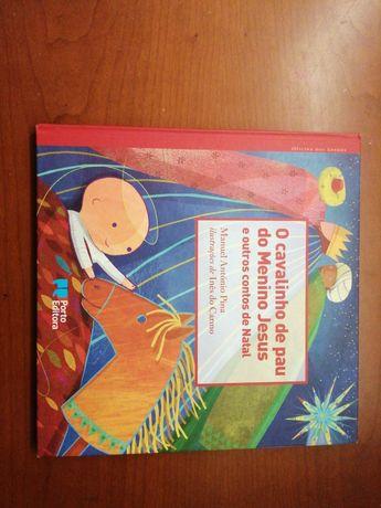 Livro infantil histórias natalícias