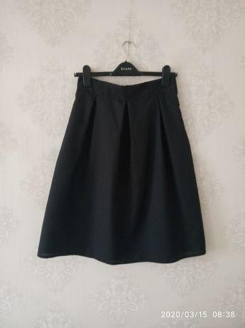 черная юбка миди концертная