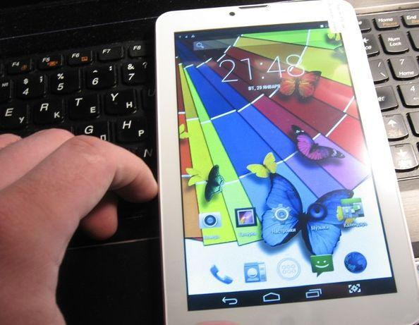 Планшет телефон SONY Tab 1GB/8GB сим + 2SIM + 3G + GPS