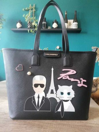 Shopper bag Paris Karl Legerfeld