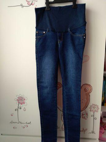 Spodnie ciążowe jeansy z pasem 36 S