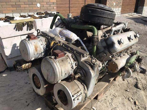 судовой двигатель ЯМЗ-236СП4 с реверс-редуктором в сборе