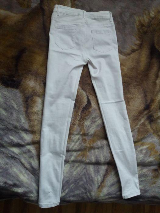 Spodnie białe rozmiar S Kraków - image 1