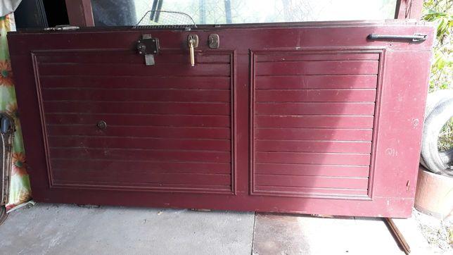 Drewniane drzwi 90x200