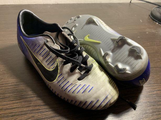 Копочки Nike Mercurial Neymar размер 33.5