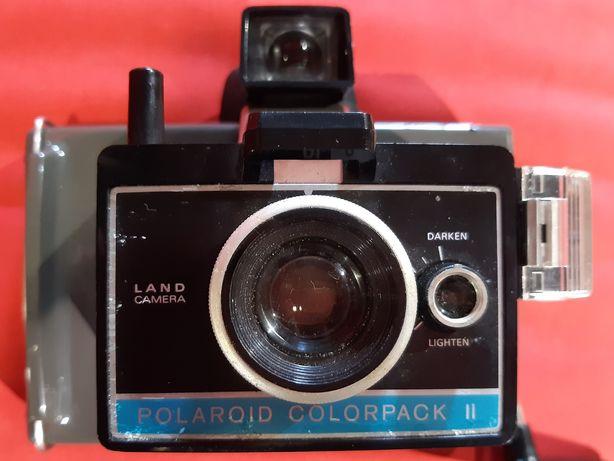 Antiga máquina fotográfica Polaroid ColorPack II década 60
