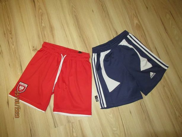 Spodenki sportowe Adidas i H&m 140/146 dla chłopca