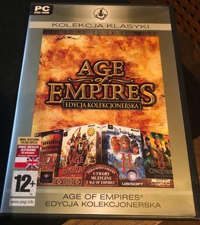 AGE OF EMPIRES II 2 - PL - Edycja Kolekcjonerska z Dodatkami - UNIKAT