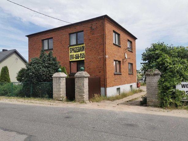 Sprzedam dom jednorodzinny piętrowy z piwnicą działka 1800m mieszkanie