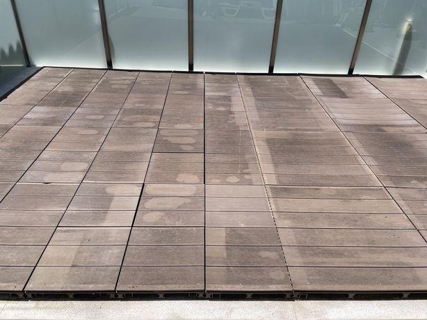 Pavimento Deck Jardim 24m2