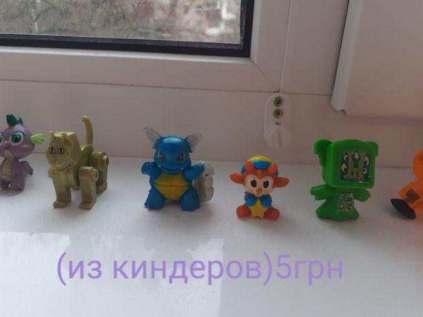 Киндеры, игрушки