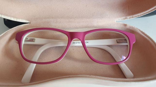 Oprawki , okulary dla dziewczynki