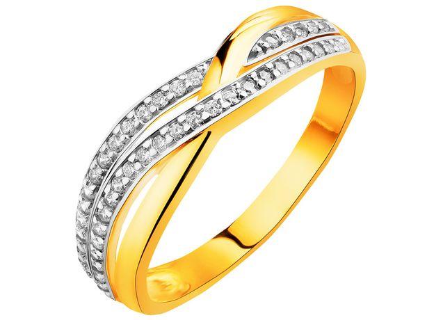 APART ZŁOTY pierścionek OBRĄCZKA roz 12
