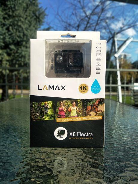 Sprzedam kamerę sportową firmy Lamax x8 electra. Go pro hero 4 5 6