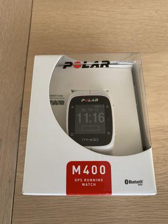 Zegarek sportowy Polar M400 HR Biały