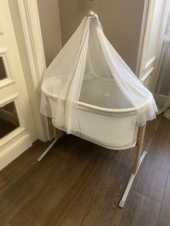 Люлька кроватка BabyBjorn Cradle Harmony с балдахином