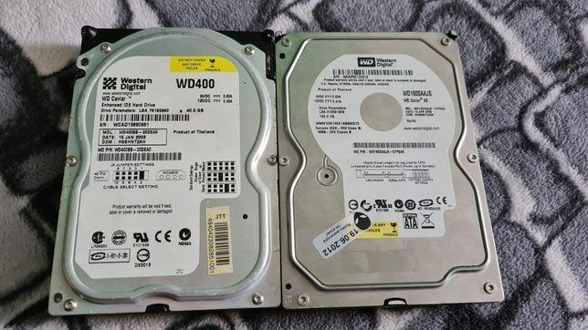 Dyski Twarde SATA 160GB /ATA 40GB 3,5 Tanio