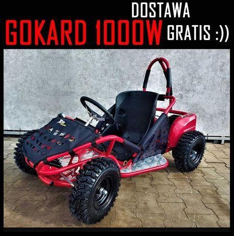 DOSTAWA GRATIS Buggy, Gokart, Quad Elektryczny1000W Mocny,3 Biegi,Raty