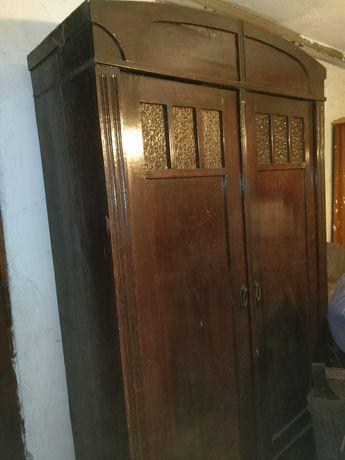 Stara szafa do renowacji antyk zabytek drewniana