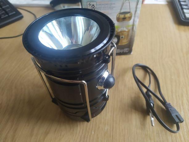 Фонарь лампа Camping Solar JY-5700T + солнечная батарея