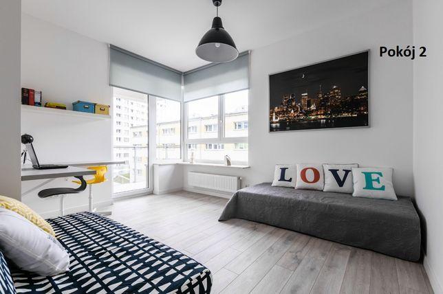 Pokój 2 os. Mieszkanie 3pok, Metro Słodowiec 50 metrów. Balkon. Wifi