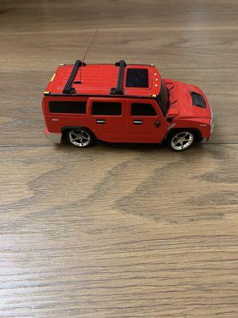 Машинка красная, машинка на управлении
