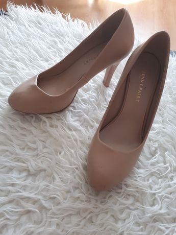 Buty beżowe