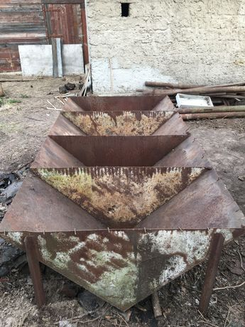 Ванна стальная 4 секционная