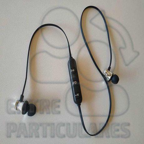 Fones Bluetooth Desporto - Auriculares Ipods auscutadores P0031V