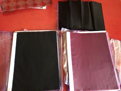 Копірка чорна для друкарських машинок,рукоділля