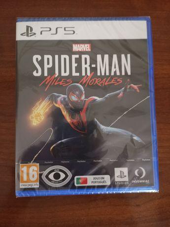 Vendo Spider-Man Miles Morales NOVO E SELADO PS5