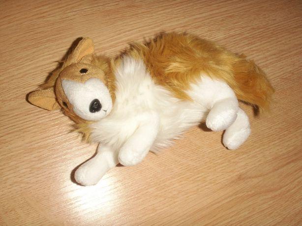 Maskotka Pies owczarek szkocki LESSIE zabawka