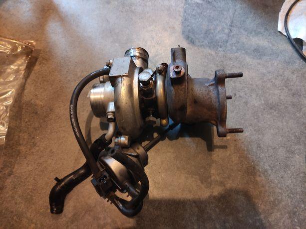 Turbosprężarka Saab 9-3 td04l-14t Aero klp z przewodami turbina b207