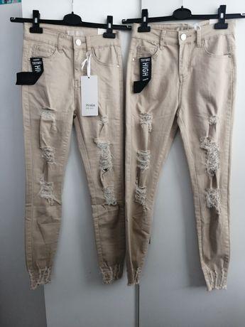 Nowe spodnie S i M