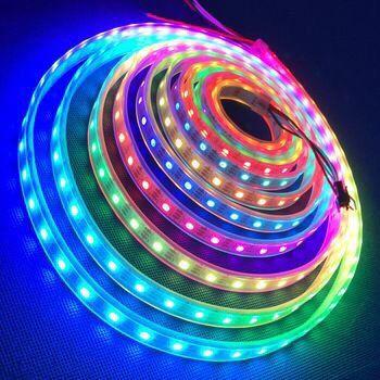 Светодиодная LED лента 5 МЕТРОВ RGB гирлянда ЛЕД диодная подсветка