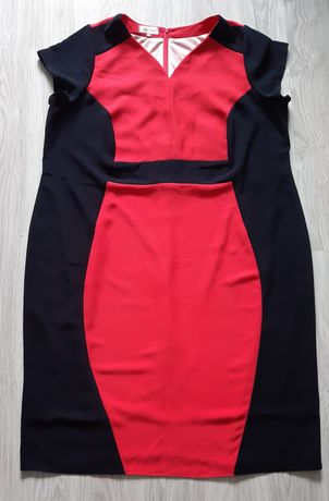 Sukienka wyszczuplająca 54
